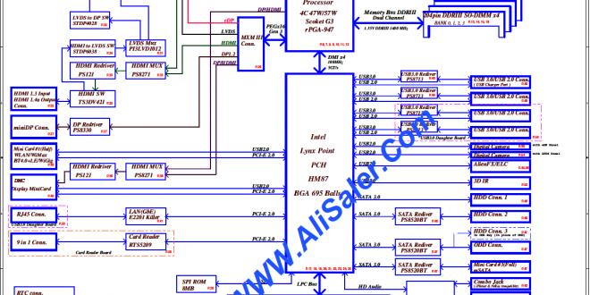 Lenovo G410/G510 Compal LA-9641p Discrete Rev:0 3 schematic