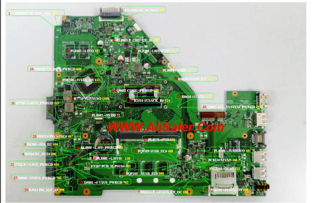 X553MA X550LC Mainboard Defekt? Grafikkarte Reparatur X550LN X553 ASUS X550LD