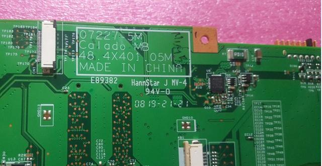 Acer 2920/2920G/2920Z 07227-5M Calado MB 48 4X401 05M Bios