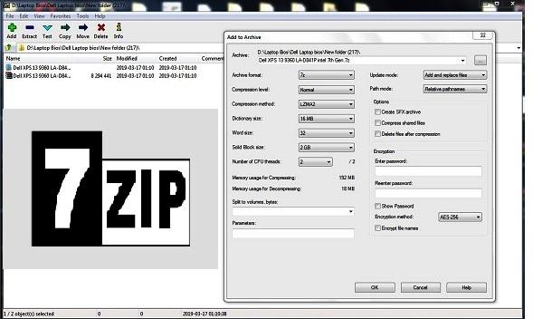 7-Zip ( 32-bit, 64-bit ) for Windows – AliSaler com