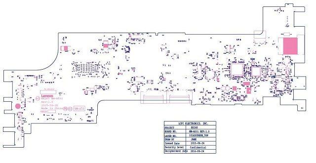 ThinkPad X260 NM-A531 boardview – AliSaler com