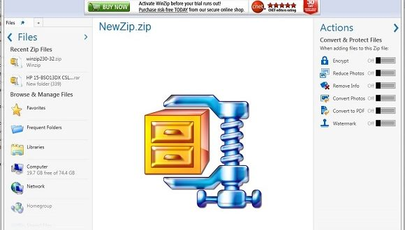 Winzip software download