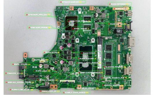 ASUS X456UQK schematic diagram