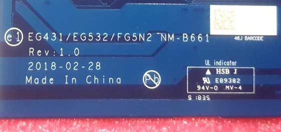 Lenovo IdeaPad EG431 NM-B661 Bios Bin – AliSaler com