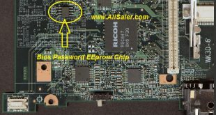 Lenovo ThinkPad R500 Bios Password chip location