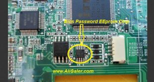 ThinkPad X100e Bios Password chip locatin