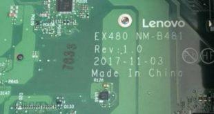 Lenovo X1 Carbon NM-B481 Bios rom file