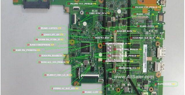 Asus E502NA schematic