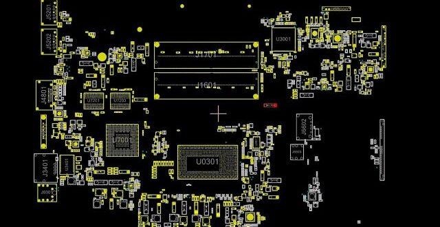 Asus X542UQ X542UQR Rev2.0 boardview