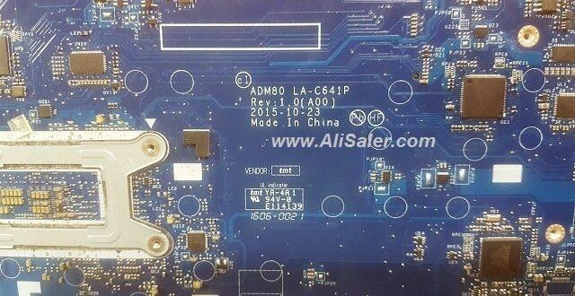 Dell E5570 ADM80 LA-C641P schematic