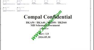 Dell Inspiron 7460 LA-D821P Schematic