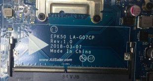 HP 15 EPK50 LA-G07CP Bios