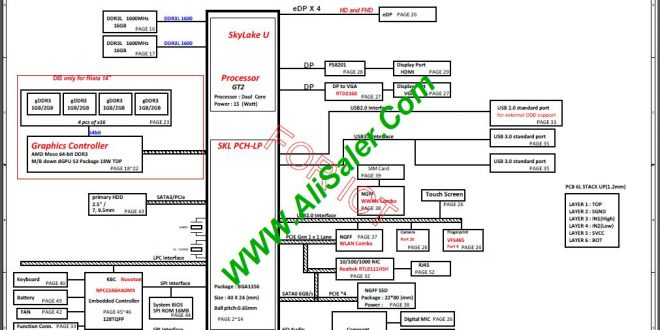 Hp Probook 440 G3 Quanta X61c Schematic  U2013 Alisaler Com