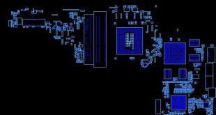 HP Pavilion 15-17 E Series Quanta R63 DA0R63MB6F1 Rev-F Boardview