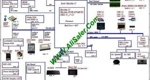 Acer Aspire E 14 K4000-55ZJ A4WAS LA-C611P Schematic