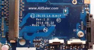 HP ZBook 15 G2 Mobile Workstation LA-B381P Bios
