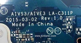 Lenovo U31-70 AIVS3-AIVE3 LA-C311P bios