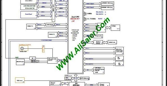 Acer Swift 5 SF514-52T N17W3 17809-1M Schematic