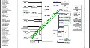 Acer Swift SF314-51 CA4DB(X3) R20 Skylake U Schematic