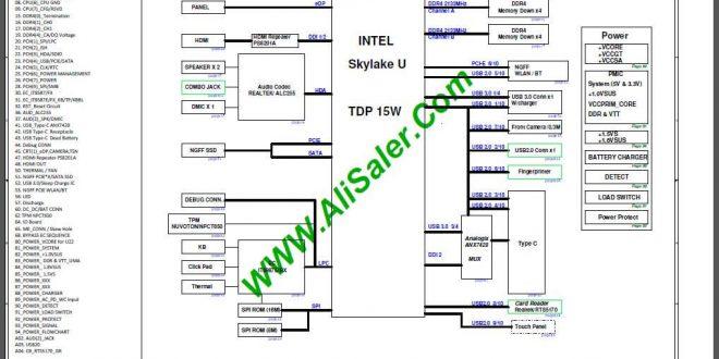 Acer Swift SF314-51 CA4DB(X3) R20 Skylake U Schematic