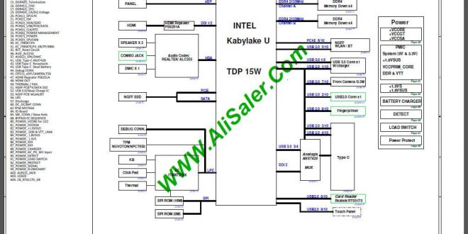 Acer Swift SF314-51 M3RDA(M3) R22 Kabylake U Schematic