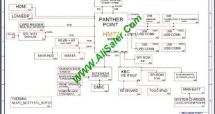 HP 15-J 15CRU 6050A2548201 schematic