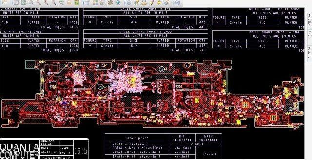 Acer Swift 7 SF713-51 DA0ZDSMBAF0 boardview