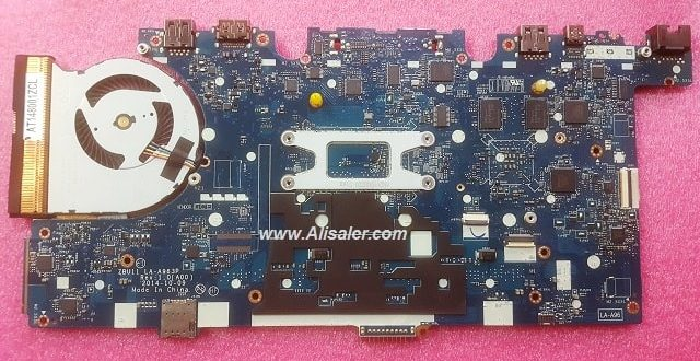 Dell Latitude E7450 LA-A963P bios