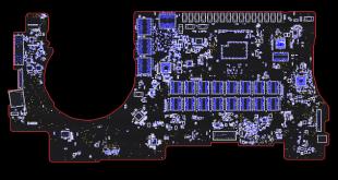 Macbook Pro 15 Retina A1398 820-00426 Board View