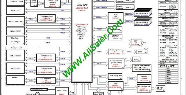 Dell 7437-7537 DOH50 MB 12311-1 48.47L01.021 schematic