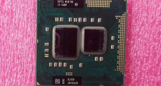 Core i5 1st Gen CPU