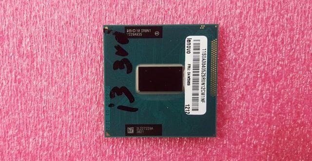 Intel Core i3-3110M CPU