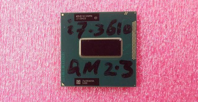 Intel Core i7-3610QM 2.3GHz CPU