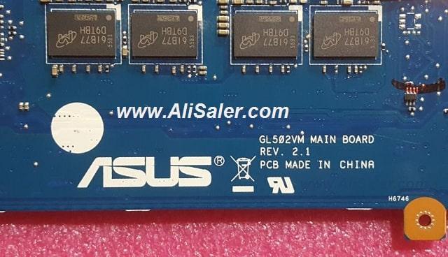 Asus GL502VM bios