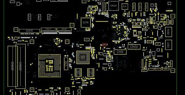 HP All-in-One 24-b229c Quanta N83 DA0N83MB6F0 Boardview