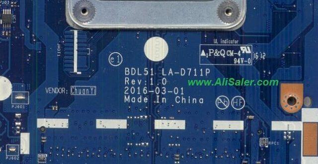 HP 15 BDL51 LA-D711P bios
