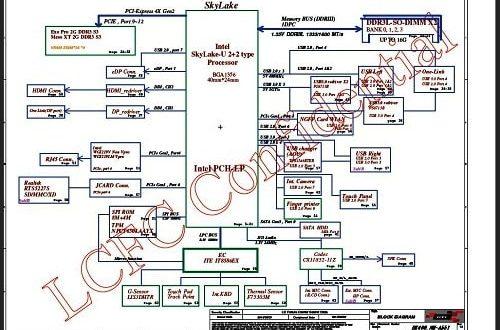 NM-A551 schematic