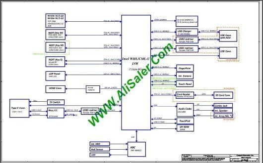 LENOVO FLEX 14 LA-H081P schematic