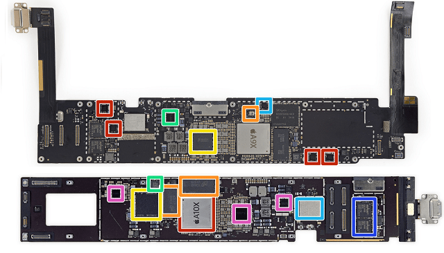 Apple iPad schematic