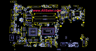 asus N550LF BoardView