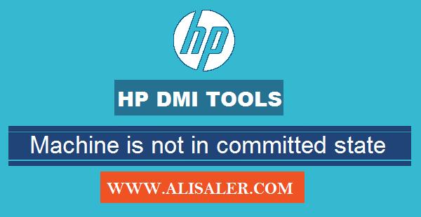 hp dmi tool