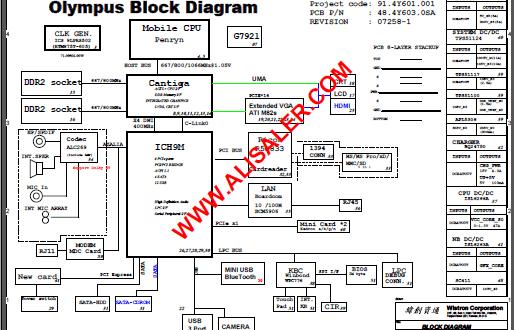 Lenovo Y330 schematic