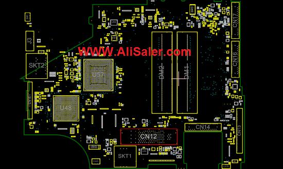 Lenovo thinkpad X200TLCM MB 07251-1 boardview