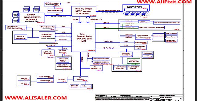 LA-A001P Schematic