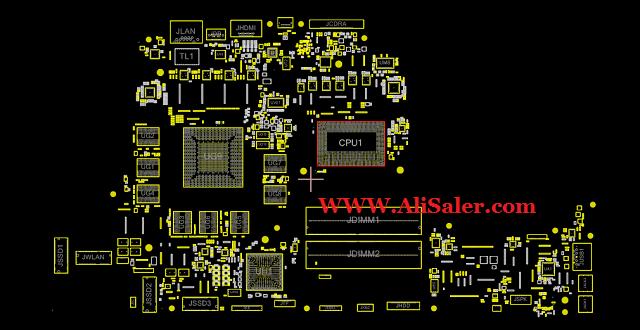 Dell Alienware 17 R4 LA-D751P Boardview